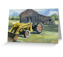Neighbor Don's Tractor Greeting Card