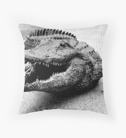 Gator Bait Throw Pillow