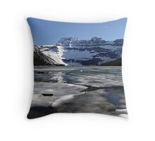 Springtime at Cameron Lake  Throw Pillow
