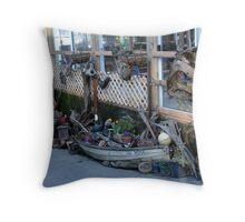 Cowichan Bay Collectibles Throw Pillow