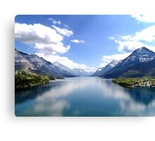 A Look at Paradise Canvas Print