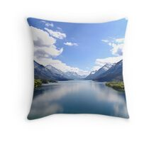 A Look at Paradise Throw Pillow