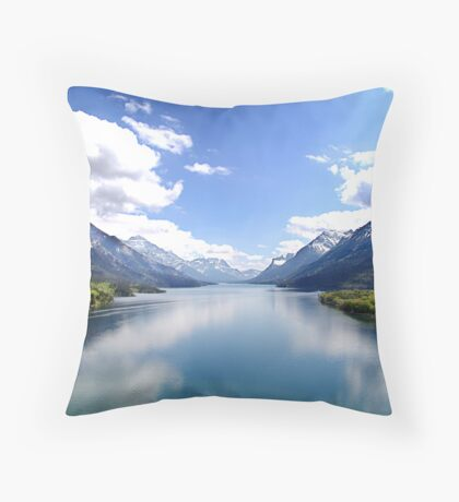 A Look at Paradise Throw Pillow