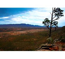 Australian Outback Storm Brewing Photographic Print