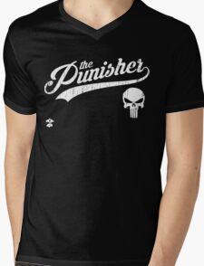 Team Punisher - Cloud Nine Edition (White) Mens V-Neck T-Shirt