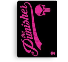 Team Punisher - Cloud Nine Edition (Pink) Canvas Print