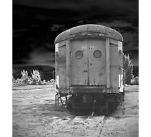 lonely cart  Photographic Print