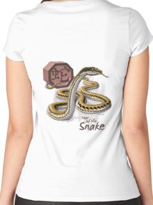 Year of the Snake Women's Fitted Scoop T-Shirt