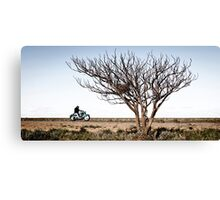 Desolate Highway Canvas Print