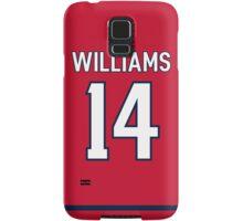 Washington Capitals Justin Williams Jersey Back Phone Case Samsung Galaxy Case/Skin