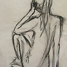Life drawing   by Vickyh