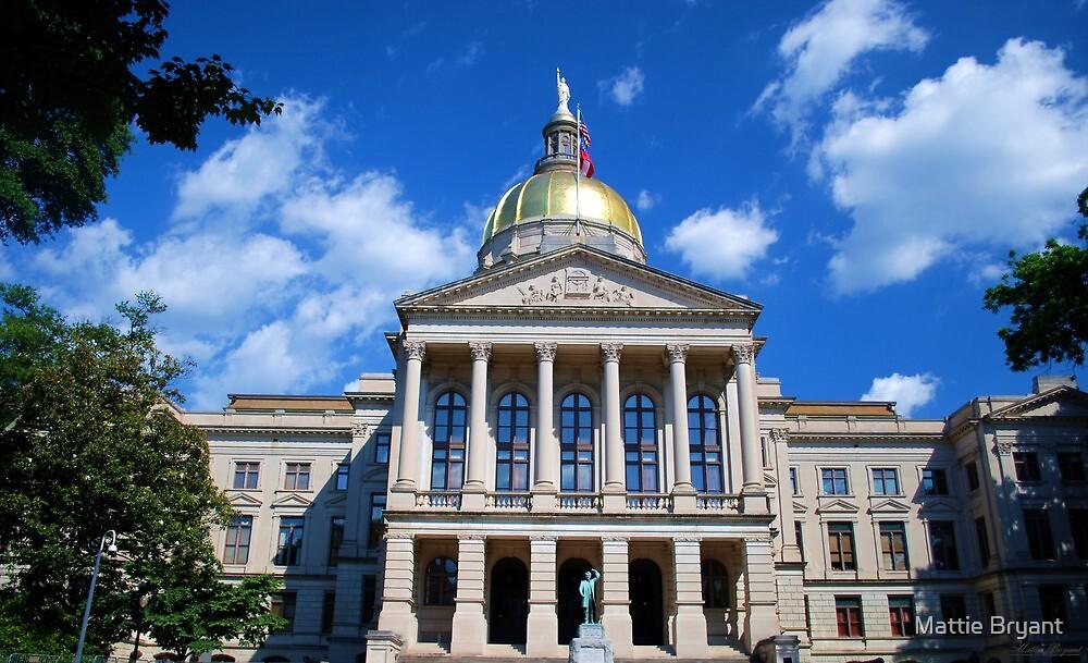 Georgia State Capitol Building by Mattie Bryant