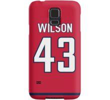 Washington Capitals Tom Wilson Jersey Back Phone Case Samsung Galaxy Case/Skin