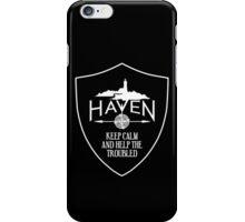 Haven Keep Calm Black Badge Logo iPhone Case/Skin