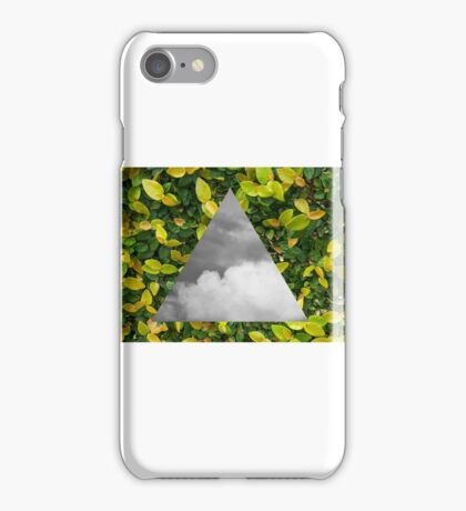 Tree and clouds iPhone Case/Skin