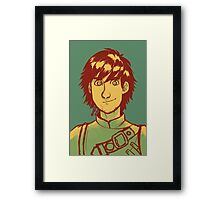 Hiccup Haddock Framed Print