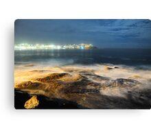 Bondi Rocks Canvas Print