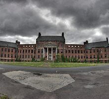 Abandoned Asylum by DariaGrippo