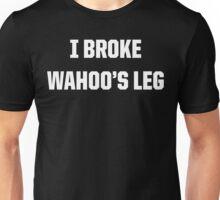 Hammer breaks legs.  Unisex T-Shirt