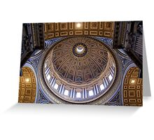 St Peters Dome Greeting Card