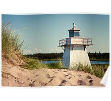 OLD LIGHT- Prince Edward Island, Canada Poster
