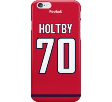 Washington Capitals Braden Holtby Jersey Back Phone Case iPhone Case/Skin