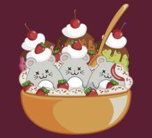 Micecream Morbid Kawaii Graphic Tees & Stickers by BeataViscera