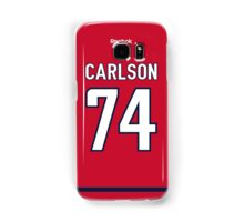 Washington Capitals John Carlson Jersey Back Phone Case Samsung Galaxy Case/Skin