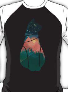 World Cat - cutout T-Shirt