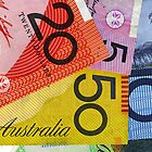 Aussie Banknotes Partial by DavidMay