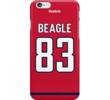 Washington Capitals Jay Beagle Jersey Back Phone Case iPhone Case/Skin