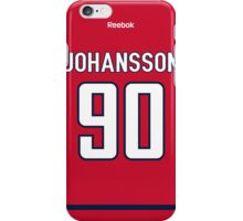 Washington Capitals Marcus Johansson Jersey Back Phone Case iPhone Case/Skin