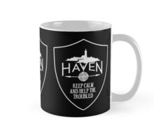 Haven Keep Calm Black Badge Logo 2 Mug
