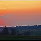 Lancaster County Sunset by Chet  King