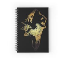 Final Fantasy IX logo grunge Spiral Notebook