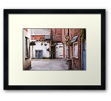 The Backyard Framed Print