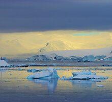 Morning light, Antarctica by John Dalkin