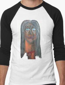 Death to a beauty clown Men's Baseball ¾ T-Shirt