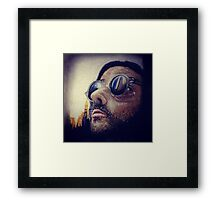 Léon the Professional  Framed Print