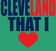 cleveland that I love by imgarry
