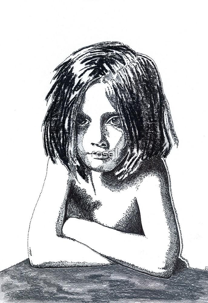 """""""strange little char girl"""" by rosell"""