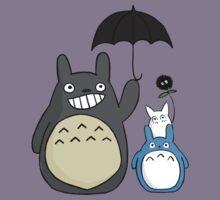 Totoro family Kids Tee