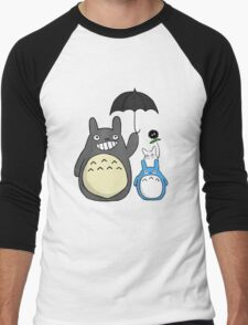 Totoro family Men's Baseball ¾ T-Shirt