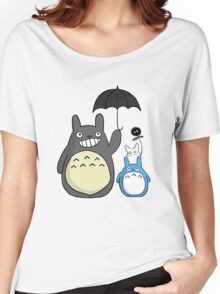 Totoro family Women's Relaxed Fit T-Shirt