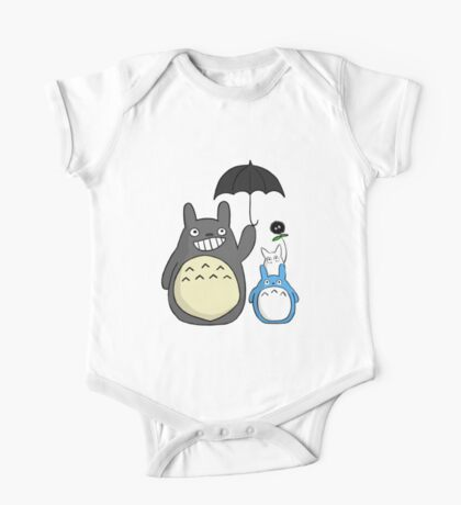 Totoro family One Piece - Short Sleeve