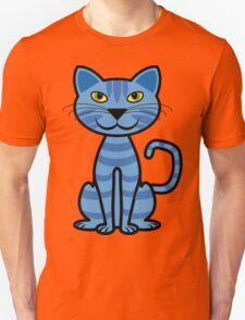The Blue Cat Unisex T-Shirt