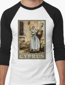 Travel Poster 08 - The water carrier, Cyprus T-Shirt