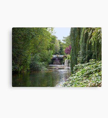 River Idle at Retford Canvas Print