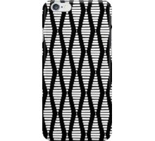 White Tribal Diamonds iPhone Case/Skin