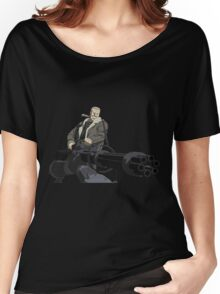 ghost in the shell motoko kusanagi batou anime manga shirt Women's Relaxed Fit T-Shirt